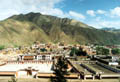Panorama vom Labrang Kloster in Xiahe
